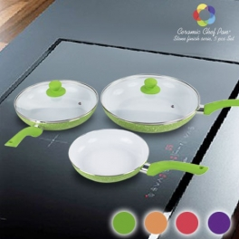 Sartenes Ceramic Chef Pan Stone Edition (5 Piezas)